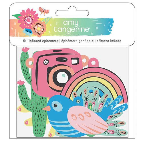 American Crafts - Sunshine and Good Times Collection - Inflated Ephemera