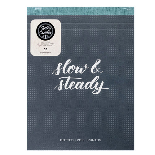 Kelly Creates - Dotted Paper Pad - 8.5 x 11 - 50 Pages