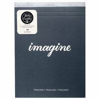 Kelly Creates - Tracing Paper Pad - 8.5 x 11 - 50 Pages