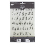 Kelly Creates - Clear Acrylic Stamps - Traceable - Alphabet