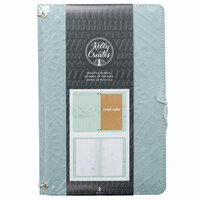 Kelly Creates - Practice Journal - Teal