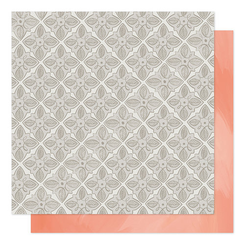 1canoe2 - Twilight Collection - 12 x 12 Double Sided Paper - Garden Tiles
