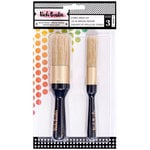 American Crafts - All The Good Things Collection - Stencil Brush Set