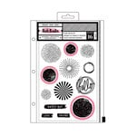American Crafts - All The Good Things Collection - Dies and Clear Acrylic Stamps - Set 1