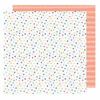 American Crafts - Stay Colorful Collection - 12 x 12 Double Sided Paper - 8 Tracks