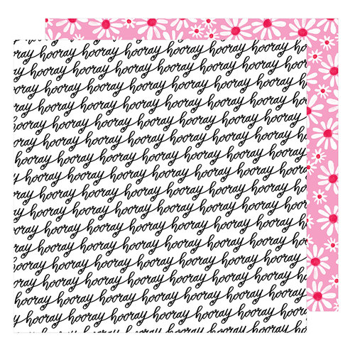 American Crafts - Stay Colorful Collection - 12 x 12 Double Sided Paper - Let's Boogie
