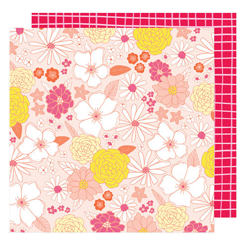 American Crafts - Stay Colorful Collection - 12 x 12 Double Sided Paper - Groovy