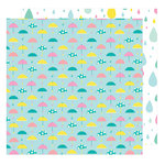 American Crafts - Stay Colorful Collection - 12 x 12 Double Sided Paper - Neato