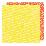 American Crafts - Stay Colorful Collection - 12 x 12 Double Sided Paper - Psychedelic