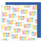 American Crafts - Stay Colorful Collection - 12 x 12 Double Sided Paper - Happy Days