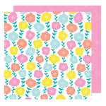 American Crafts - Stay Colorful Collection - 12 x 12 Double Sided Paper - Funkadelic
