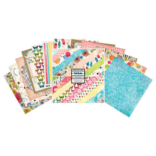 American Crafts - Field Notes Collection - 12 x 12 Paper Pad