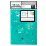 American Crafts - Field Notes Collection - Stencils - Ink Spill