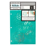 American Crafts - Field Notes Collection - Stencils - Flutter