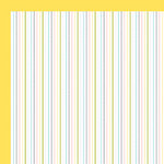 American Crafts - Baby Collection - 12 x 12 Double Sided Paper - Hickory Dickory, CLEARANCE