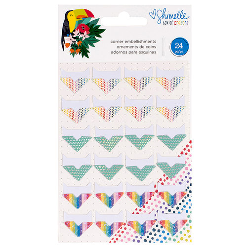 American Crafts - Box of Crayons Collection - Corners