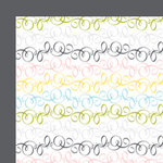 American Crafts - Baby Collection - 12 x 12 Double Sided Paper - Itsy Bitsy Spider, CLEARANCE