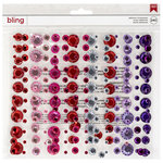 American Crafts - Bling Stickers - Rhinestones - Varied Colors