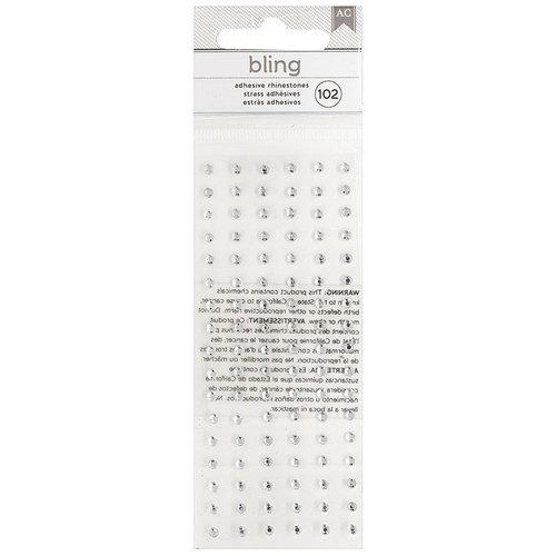 American Crafts - Bling Stickers - Rhinestones