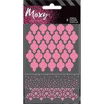 American Crafts - Moxy Glitter - Stencils - Round