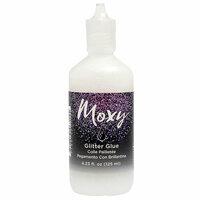 American Crafts - Moxy Glitter - Clear Glitter Glue