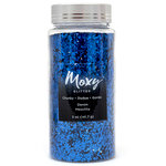 American Crafts - Moxy Glitter - Chunky - Denim - 5 Ounces