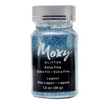 American Crafts - Moxy Glitter - Extra Fine - Lagoon - 1.3 Ounces