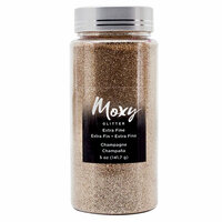 American Crafts - Moxy Glitter - Extra Fine - Champagne - 5 Ounces