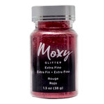 American Crafts - Moxy Glitter - Extra Fine - Rouge - 1.3 Ounces