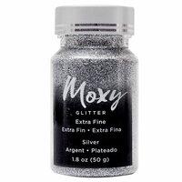 American Crafts - Moxy Glitter - Extra Fine - Silver - 1.8 Ounces