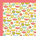 American Crafts - Backyard Collection - 12 x 12 Double Sided Paper -  Chomp, CLEARANCE