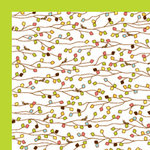 American Crafts - Backyard Collection - 12 x 12 Double Sided Paper - Snap, CLEARANCE