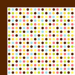 American Crafts - Backyard Collection - 12 x 12 Double Sided Paper - Drop, CLEARANCE