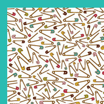 American Crafts - Craft Fair Collection - 12 x 12 Double Sided Paper - Betsy Tailor, CLEARANCE