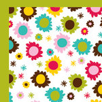 American Crafts - Craft Fair Collection - 12 x 12 Double Sided Paper - Mona Trimenez, CLEARANCE