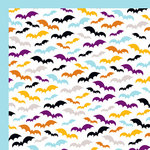 American Crafts - Halloween Collection - 12 x 12 Double Sided Paper - Transylvania, CLEARANCE