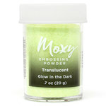 American Crafts - Moxy Embossing Powder - Glow in the Dark - 1 Ounce