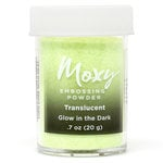 American Crafts - Moxy Embossing Powder - Glow in the Dark - .7 Ounce