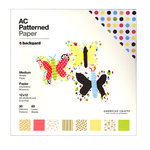 American Crafts - 12 x 12 Patterned Paper Pack - 60 Sheets - Backyard, BRAND NEW