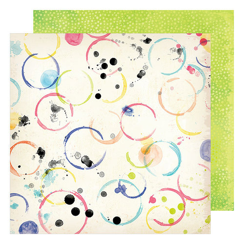 American Crafts - Field Notes Collection - 12 x 12 Double Sided Paper - Daydreamer