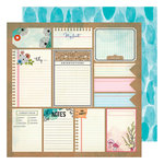 American Crafts - Field Notes Collection - 12 x 12 Double Sided Paper - Good Stuff