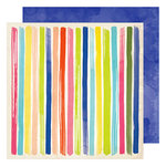 American Crafts - Field Notes Collection - 12 x 12 Double Sided Paper - One of Kind