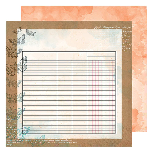American Crafts - Field Notes Collection - 12 x 12 Double Sided Paper - Collect and Document