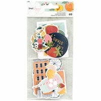 American Crafts - It's All Good Collection - Ephemera with Foil Accents