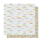 American Crafts - It's All Good Collection - 12 x 12 Double Sided Paper - Seek Magic