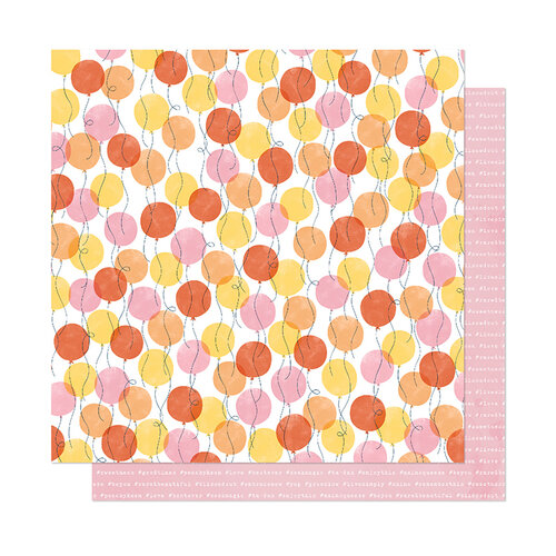American Crafts - It's All Good Collection - 12 x 12 Double Sided Paper - Good Times