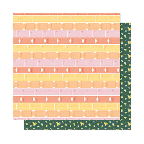 American Crafts - It's All Good Collection - 12 x 12 Double Sided Paper - Let's Play