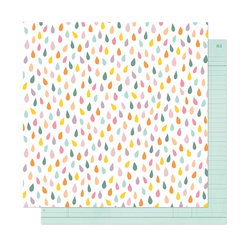 American Crafts - It's All Good Collection - 12 x 12 Double Sided Paper - Embrace Now
