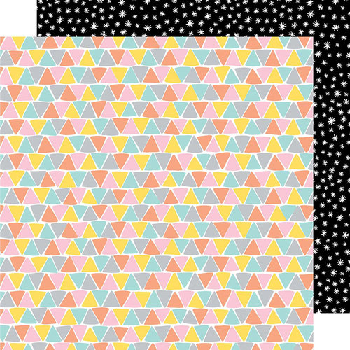 American Crafts - Shine On Collection - 12 x 12 Double Sided Paper - Three Sides