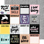 American Crafts - Shine On Collection - 12 x 12 Double Sided Paper - More of This